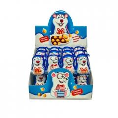 """Печенье """"КРЫСЁНОК"""" с шоколадной пастой и игрушкой  15 грамм"""