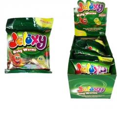 Жевательный Мармелад Jelaxy Baby Worms - Маленькие Черви 80 гр