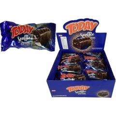 Кекс Today Souffle батончик с шоколадным кремом 45 гр