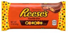 Шоколадные тарталетки Hershey's Reese's PEA с арахисовой пастой и драже 42 грамма