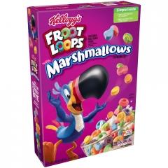 Готовый завтрак Kelloygs Froot Loops Marshmallow 297 грамм