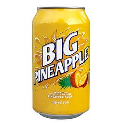 Напиток BIG RED Pineapple 0,355 л