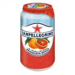 Напиток б/а газ. San Pellegrino Апельсин Розовый 330 мл
