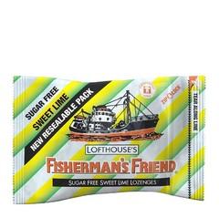 Мятные леденцы Fisherman's Friend со вкусом лайма 25 грамм