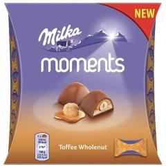 Конфеты Milka Moments Тоффи Холнат 97 грамм