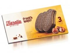 Вафли Fiorella в молочном шоколаде с ореховой начинкой 60 гр