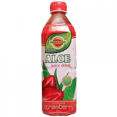 Напиток Алоэ Вера со вкусом клубники 0,5л ПЭТ