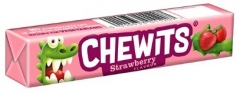 Жевательные конфеты Chewits Клубника 30 гр