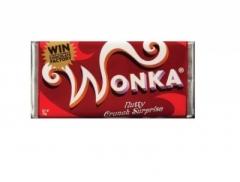 Шоколад Wonka молочный с золотым билетом 200 гр