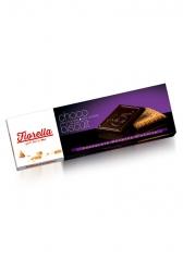 Печенье Fiorella покрытые темным шоколадом 102 гр