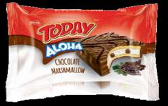 Кекс Elvan Today Aloha с маршмеллоу, вкус - шоколад 40 гр