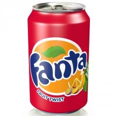 Напиток газированный Fanta Fruit Twist 330 мл