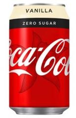 Напиток газированный Coca-cola Vanilla ZERO 330 мл