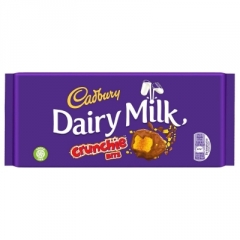 Шоколад Cadbury Dairy Milk Crunchie Bits 200 гр