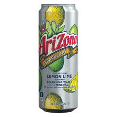 Напиток б/алк газированный AriZona Sparkling Lemon Lime 0,355л
