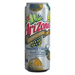 Напиток б/алк газированный AriZona Sparkling Pineapple Coconut 0,355л