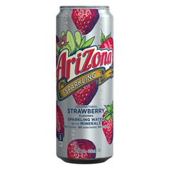 Напиток б/алк газированный AriZona Sparkling Strawberry 0,355л