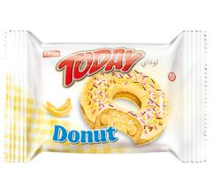 Кекс Today Donut вкус банан 50 грамм
