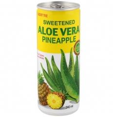 Напиток сокосодержащий Lotte Алоэ Вера вкус ананас 240 мл