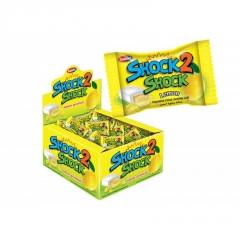 """Жевательная резинка """"SHOCK2SHOCK"""" LEMON (Лимон) 4 гр"""