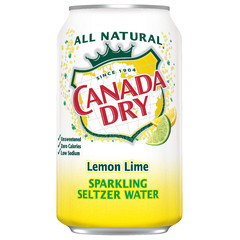 Canada Dry Lemon Lime