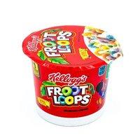 Сухой завтрак KELLOGG'S FROOT LOOPS с маршмеллоу в чашке 42 грамма