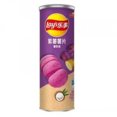 Чипсы Lay's Фиолетовая Картошка и Кокос в тубе 90 гр