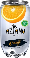 Напиток газ. Aziano Orange (Апельсин) 350 мл