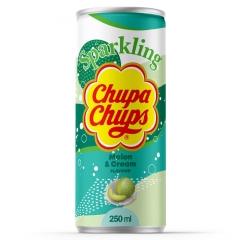 Напиток газированный Chupa Chups Дыня крем 250 мл