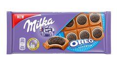 Молочный шоколад Milka Oreo Sandwich 92 грамма