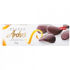 Шоколадные лепестки CARLETTI Orange Arches 75 грамм