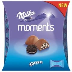 Конфеты Milka Moments Mini Oreo 92 грамма