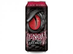 Напиток энергетический газированный VENOM Черная Мамба низкокалорийный 473 мл