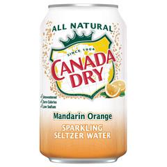 Canada Dry Mandarin Orange