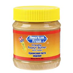 Арахисовая паста American Fresh with Honey медовая