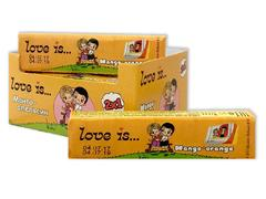 LOVE IS жевательные конфеты Манго-Апельсин 25 грамм