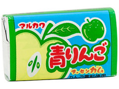MARUKAWA жевательная резинка со вкусом зеленого яблока 5,5 грамм