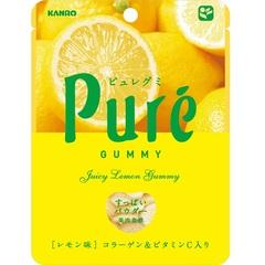 Жевательный мармелад Kanro Pure лимон 56 грамм