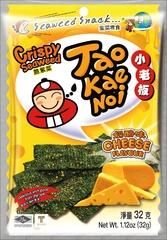 TAO KAE NOI Crispy Seaweed Cheese Flavour Сырные 32 грамма