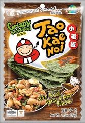 TAO KAE NOI Crispy Seaweed Stir Fried Spicy Clams Flavour Жаренные Пряные Мидии 32 грамма