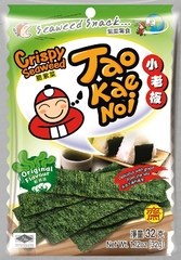 TAO KAE NOI Crispy Seaweed Original Flavour Оригинальные 32 грамма