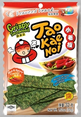 TAO KAE NOI Crispy Seaweed Hot and Spicy Flavour Острые и пряные 32 грамма