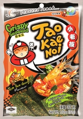 TAO KAE NOI Crispy Seaweed TomYum Goong Flavour суп Том Юм Гунг 32 грамма