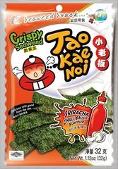 TAO KAE NOI Crispy Seaweed Sriracha Chili Sauce Flavour Чили соус шрирача 32 грамма