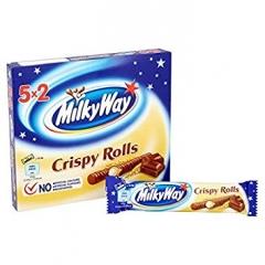 Шоколадные палочки MILKY WAY Crispy Rolls 25 грамм