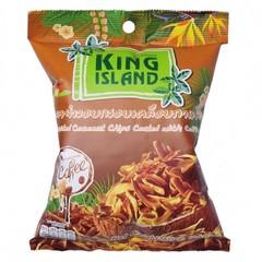 Кокосовые чипсы KING ISLAND в кофейной глазури (40 грамм)