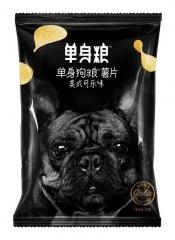 Чипсы Single Dog со вкусом колы 70 грамм
