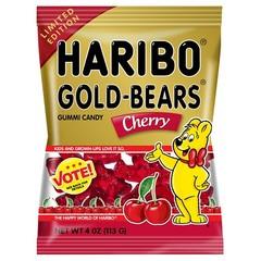 Жевательный мармелад 'HARIBO' Мишки с вкусом вишни (Gold Bears Cherry) 113 грамм