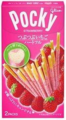 Соломка POCKY Pebbly Strawberry с клубникой