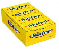 Жевательная резинка Wrigley Gum Juicy Fruit 15 Пластинок